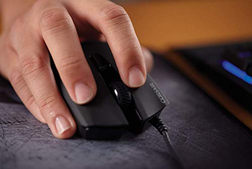 Corsair CH-9301011-AP Gaming Harpoon RGB Gaming Mouse, Backlit RGB LED, 6000 DPI, Optical Sensor