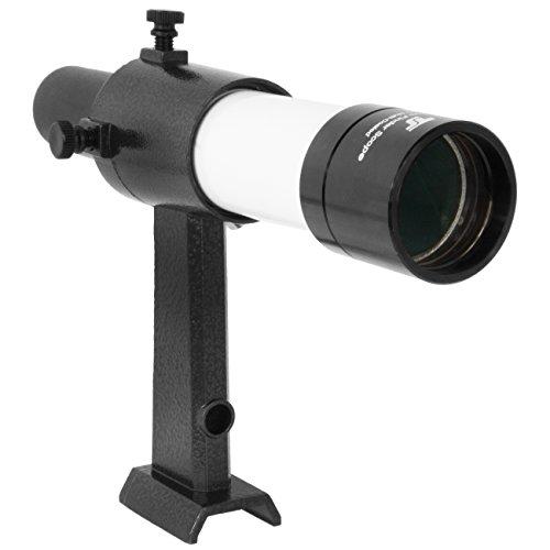 TS-Optics 6x30 Sucher geradsichtig Metall mit Halter passend für Schnellwechselsystem von Celestron, SkyWatcher, Orion, GSO, TSSU630W