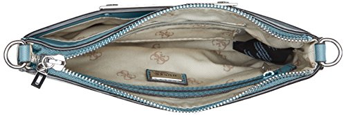 Guess Damen Hwvy6693720 Shopper, 12x22.5x28.5 cm Mehrfarbig (Teal)