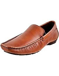 Metro Men Leather Loafers (19-4352)