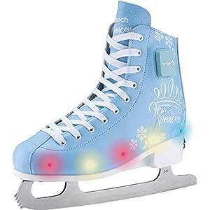 X-TECH Ice Star LED Schlittschuhe Ice Skates Jugendliche Youth Trend Leuchtend Schuhe Weltneuheit Mint rosa blau schwarz