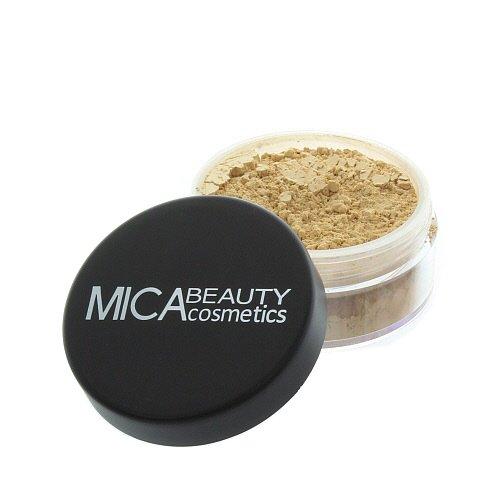 La Beauté de mica Maquillage Minérale Naturelle Fondation de Poudre Détachée « MF5 Cappuccino » 9g + le Voyage d'Echantillon Calibre 2.5g Fondation de Poudre Détachée
