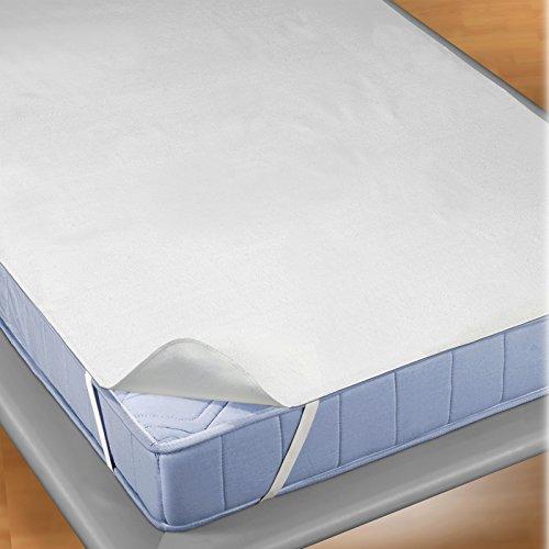 JEMIDI Unterlage für Matratzen Inkontinenz - Wasserundurchlässig Schoner Matratzenschoner Bezug Schonbezug Matratzenschutz rutschfest Matratzenschoner Matratzenunterlage 90cm x 200cm