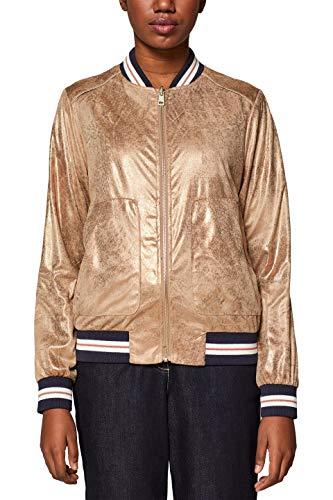 edc by ESPRIT Damen 039CC1G002 Jacke Orange (Copper 890) Medium (Herstellergröße: M)