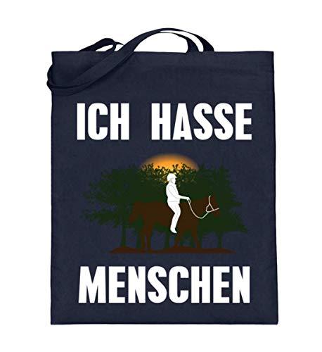 Chorchester Für alle, die Pferde und Natur lieben! - Jutebeutel (mit langen Henkeln) -