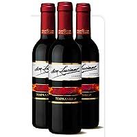 Lote de 24 Botellines Botellas Vino Don Luciano Tempranillo Cosecha 375ml - Vinos Baratos para Detalles