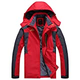 Kanpola Herren Jacken Fleece üBergangsjacke Outdoor Winter Winddicht Warme Winterjacke Fleecejacken Kapuzenjacken Steppjacke Sportjacke Kapuzen Parka Jacke Mantel Mit Taschen