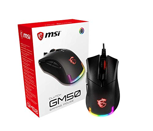 MSI Clutch GM50 - Color Negro