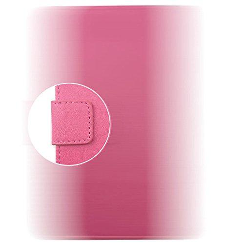 Locaa(TM) Pour Apple IPhone 7 Plus IPhone7+ (5.5 inch) 3D Bling Case Coque Fait Cuir Qualité Housse Chocs Étui Couverture Protection Cover Shell Phone Avec [Couleur 2] Doré papillon - Rose Panda 1 mignon 1 - Rose