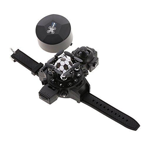 b50a6b99c1 World Cup Watch Football Drone con Cámara 0.3MP Mini Plegable RC Quadcopter  Toy con Luz