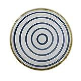 Tianboy_plate Teller Teller Küche Handwerk Keramik Teller Geeignet für Hotel Restaurant Salat und Dessertteller Frühstück Steingut Teller