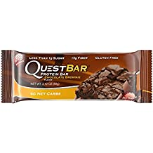 Quest Nutrition Chocolate Brownie Protein Bars - Pack of 12 Protein Bars