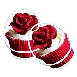 Biniwa – 1 Stück Kuchen Metall Riesenrad Cupcake Ständer Korb Halter Größe Skala Display Kuchen Dekoration Ständer