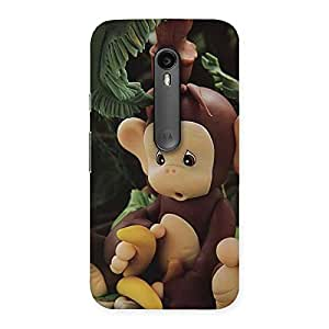 Special Toy Monkey Multicolor Back Case Cover for Moto G Turbo