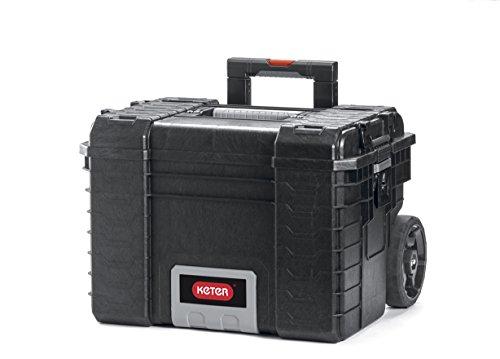 Keter Master Pro Mobile Gear Cart 22, 1 Stück, schwarz / grau / silber, 17200383