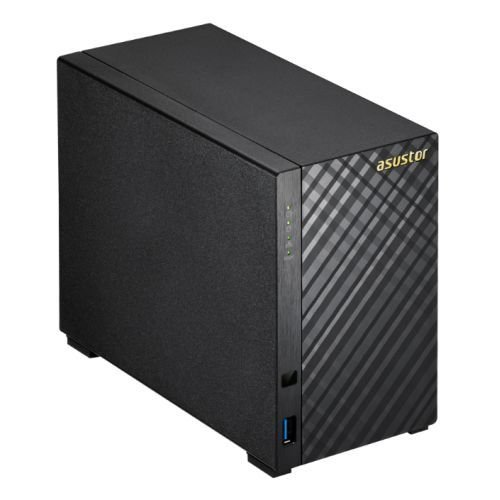 Asustor AS1002T 2-Bay NAS System (Marvell ARMADA-385, 512MB...