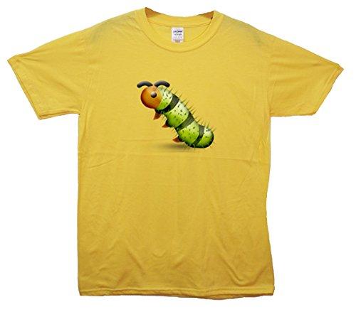 Bug Emoji T-Shirt Gelb