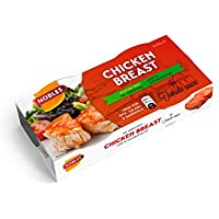 Nobles Pechuga de Pollo en Salsa de Tomate Healthy Canned Chicken Breast in Tomato Sauce Ready to Eat ideal for Salad and Sandwich Ideas. 26% Protein, 98% Fat Free and Low Sugar Food - Paquete de 16 x 180 gr - Total: 2880 gr