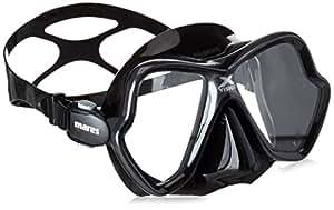 Mares Erwachsene Tauchmaske X-Vision 14, Black, 411044BK7BK
