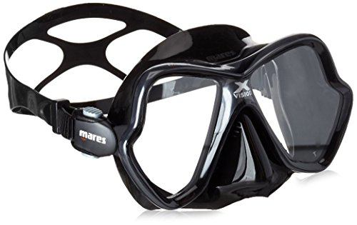 Mares Erwachsene Tauchmaske X-Vision 14 Black BX