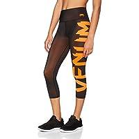 Venum Giant Leggings 3/4, Mujer, Negro/Coral, M