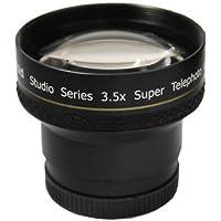 Polaroid Studio Series 3.5X Super Telephoto Lens Objectif super téléobjectif Noir - lentilles et filtres d'appareil photo (Objectif super téléobjectif, Noir, 3,7 cm, Boîte)