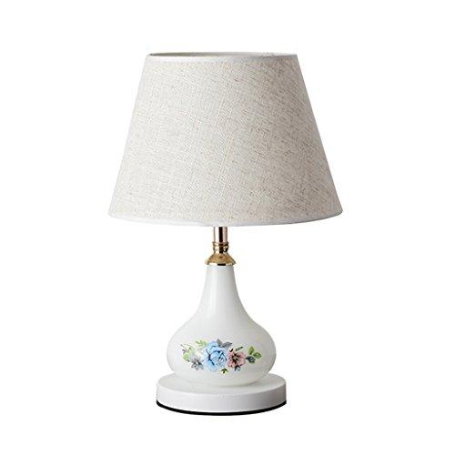 Lampe de table minimaliste moderne SYAODU salon étude éclairage de décoration LED lumière de nuit 2 contrôle de commutation (blanc)
