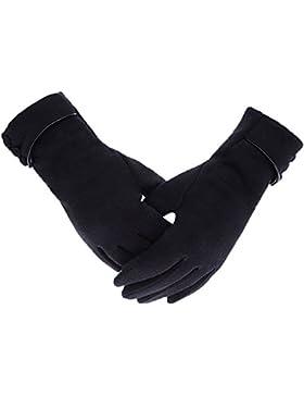 Winter Handschuhe Damen Touchscreen Handschuhe mit Warme Fleecefutter Fahrradhandschuhe Pingenaneer