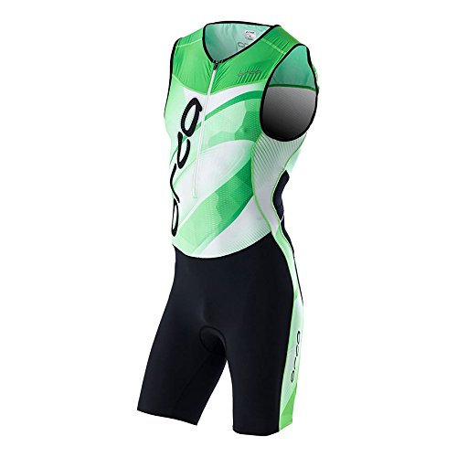 MONO TRIATLON ORCA 226 RACE SUIT VERDE/BLANCO Talla XL
