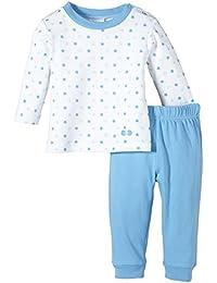 Twins Baby - Jungen 2-teiliger Schlafanzug mit Sternchen-Oberteil