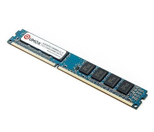 QUMOX 4GB DDR3 1600MHz PC3-12800 PC-12800 (240 PIN) DIMM Desktop-Speicher