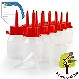 ProfessionalTree Botellas para líquido con sistema de goteo 12x50 ml. Con embudo de medición - 12...