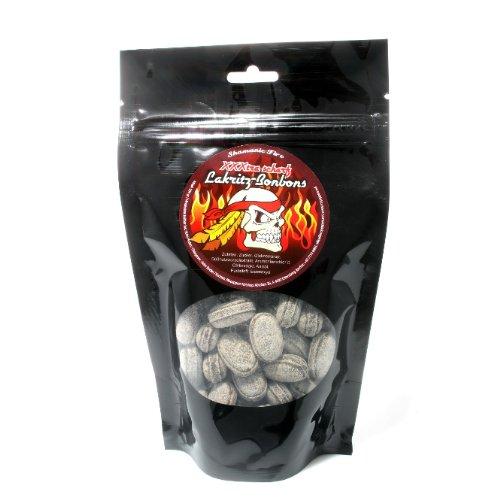 Lakritz Bonbon extrascharf 200gr im Beutel