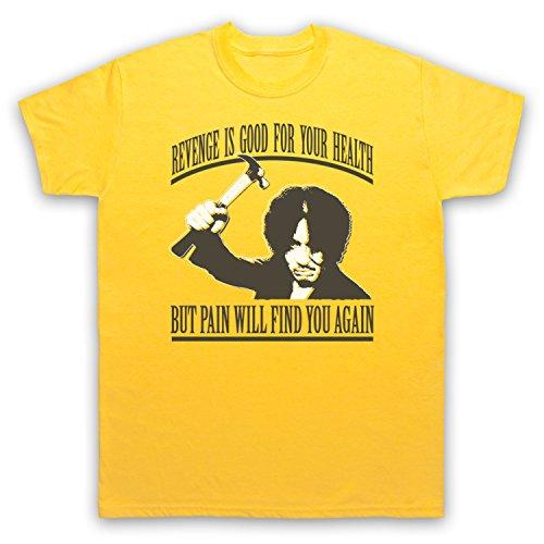 Inspiriert durch Old Boy Revenge Is Good For Your Health Unofficial Herren T-Shirt Gelb