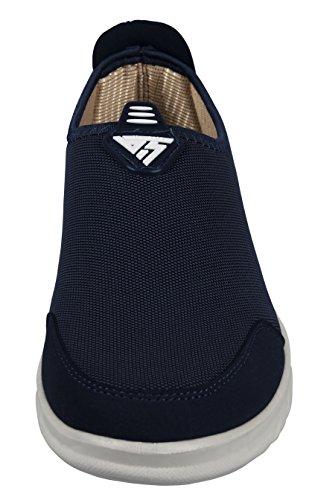 iLoveSIA ,  Herren Sneaker Low-Tops Dunkelblau