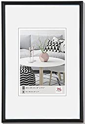 walther design KB070H Galeria Kunststoffrahmen im Format 50 x 70 schwarz