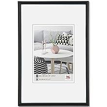 walther design KB318H Galeria picture frame, 5 x 7 inch (13 x 18 cm), black