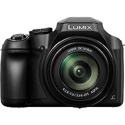 "Panasonic Lumix DC-FZ82 Appareil Photo Bridge 18,1 MP 1/2.3"" MOS 4896 x 3672 Pixels Noir - Appareils Photos numériques (18,1 MP, 4896 x 3672 Pixels, MOS, 60x, 4K Ultra HD, Noir)"