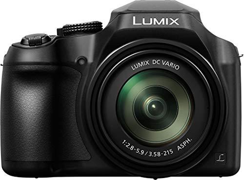"Panasonic Lumix DC-FZ82 Bridgekamera 18,1 MP 1/2,3"" MOS 4896 x 3672 Pixel, schwarz - Digitalkameras (18,1 MP, 4896 x 3672 Pixel, MOS, 60x, 4K Ultra HD, schwarz)"