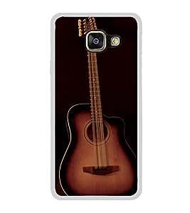 PrintVisa Designer Back Case Cover for Samsung Galaxy A7 (6) 2016 :: Samsung Galaxy A7 2016 Duos :: Samsung Galaxy A7 2016 A710F A710M A710Fd A7100 A710Y :: Samsung Galaxy A7 A710 2016 Edition (Cute Guitar Strings Music )