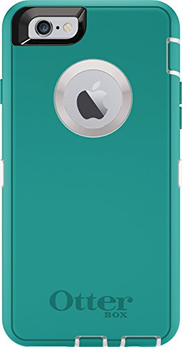 OtterBox Defender iPhone 6S Schutzhülle, Seacrest (Whisper White/Light Teal), iPhone 6 / 6s