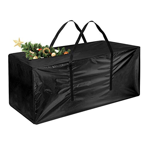 Tuparka custodia/borsa per albero di natale,sacchetti di stoccaggio albero di natale di grandi dimensioni adatta per 7 'albero 48