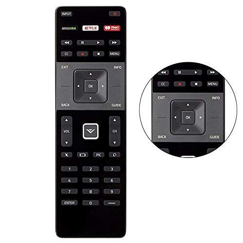 New xrt122Fernbedienung kompatibel mit Vizio TV d39h-d0d39hd0d50u-d1d50ud1d55u-d1d55ud1d58u-d3d58ud3d65u-d2d65ud2e32-c1e32C1e32h-c1e32hc1e40-c2e40C2E40X -c2e32-c1e50-c1e48-c2 (Tv Sound-bars Vizio Für)
