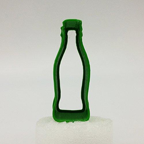 Große Cola Flasche (Cola-Flasche Ausstecher, 5cm / 8cm / 10cm / 12cm Größe, 25mm tief (8cm))