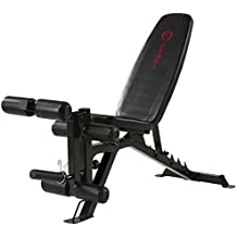 Marcy Eclipse UB1000 Adjustable Weight Bench - Black/Red