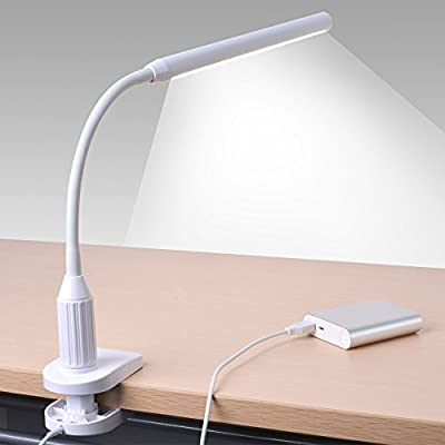 24 LED Clip on Light, Sunix Premium Dimmable Reading Lamp