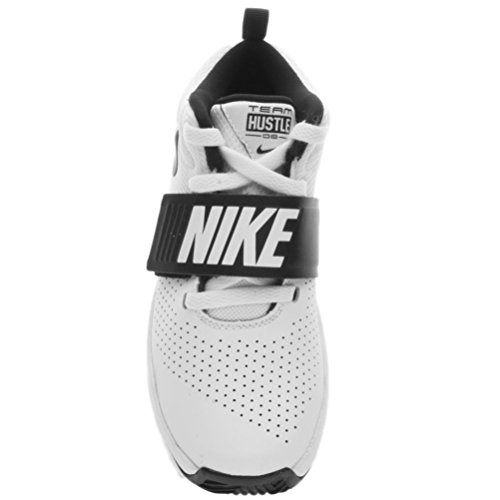 Nike Mädchen Team Hustle D 8 Ps Basketballschuhe weiß / blau