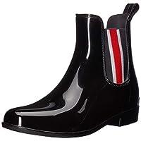 Lauren Ralph Lauren Women's Tally II Rain Boot, black, 7 B US