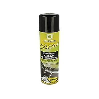 Abel Auto Shine Glanz Armaturenbrett Grundreiniger Kunststoffe Innere mit Deodorant Zitrone Duft Lange Lebensdauer 8Tage 500ml