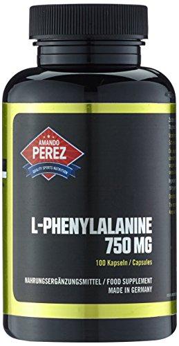 L-Phenylalanin - 750 mg - Hochdosiert - 100 Kapseln